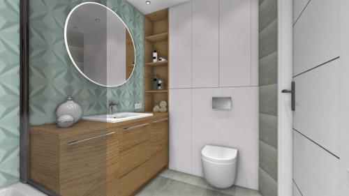 meble łazienkowe do szarej łazienki